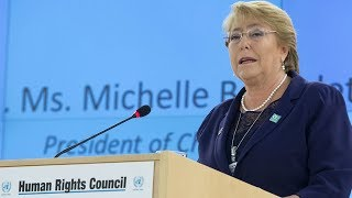 Michelle Bachelet Appointed as the High Commissioner for Human Rights