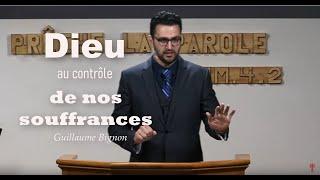 DIEU AU CONTRÔLE DE NOS SOUFFRANCES