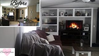 Living Room Makeover / Paint With Me / Updating My Mobile Home
