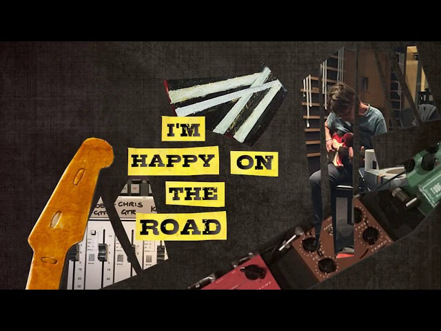 Happy On The Road (Lyric) - Chris Rea