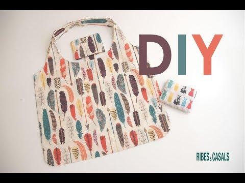 Tutorial DIY: ¿Cómo hacer una bolsa de tela para la compra?