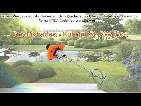 ATIKA Produktfilm - Rührgerät RW 1600