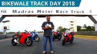 BikeWale Track Day 2018 | Yamaha R15 | Suzuki Gixxer | TVS Apache RR310 | Ducati SuperSport S