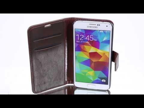 Mobiletto Samsung Galaxy S5 CEO Tasche - Braun