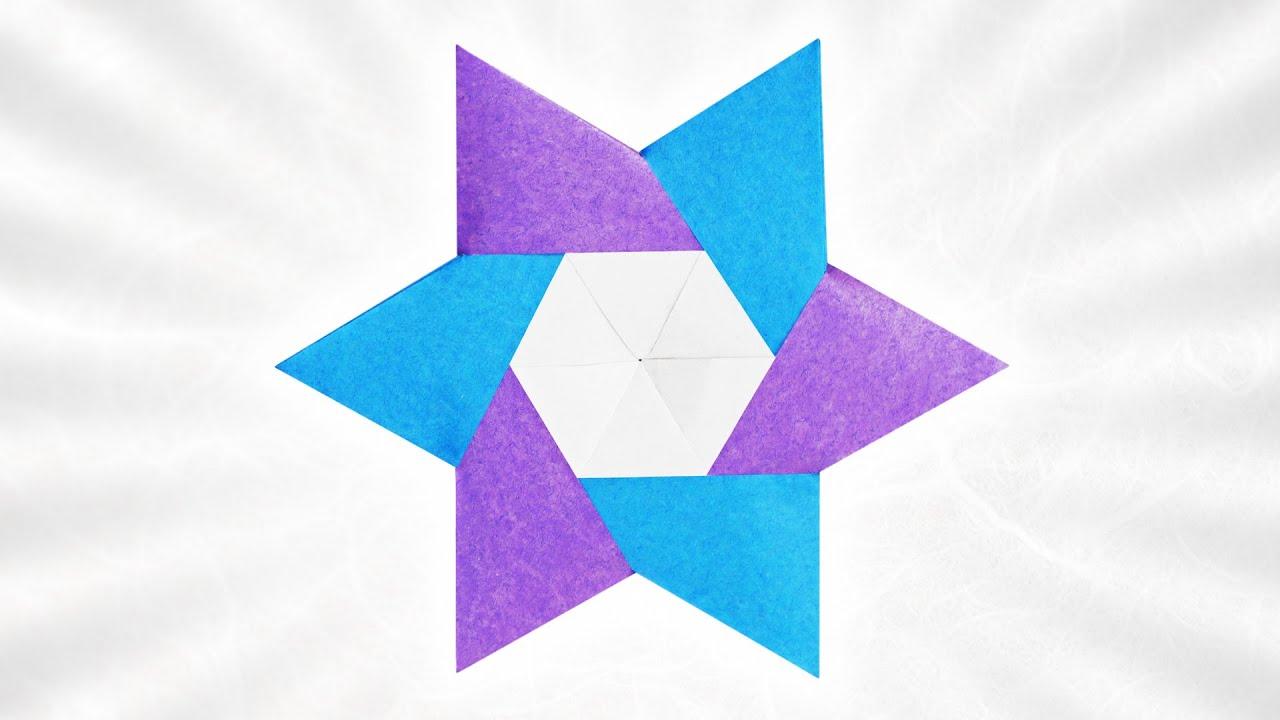 Origami Pyramid Star (Usman Rosyidhi)
