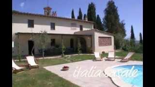 preview picture of video 'Ferienhaus mit Pool für 14 Personen bzw. 2 Ferienwohnungen unweit von Siena 17/225'