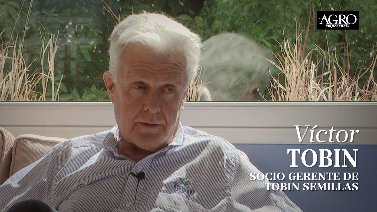 Víctor Tobin - Socio Gerente de Tobin Semillas