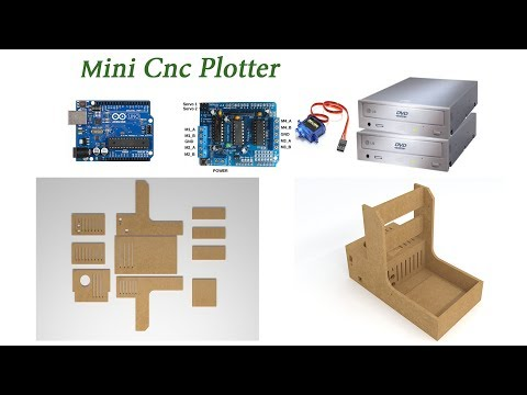 Mini Cnc PLotter Nasıl Yapılır