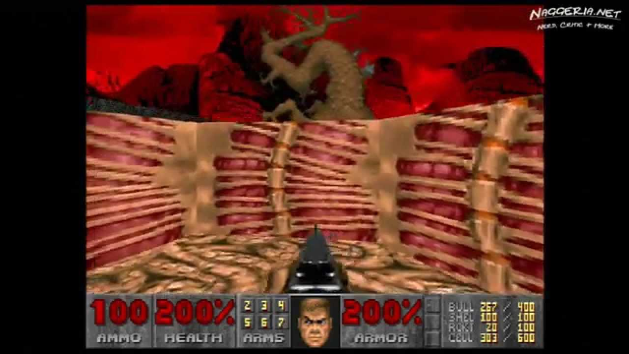 "Doom (E3M9 ""Warrens"") Walkthrough – Ultra-Violence"