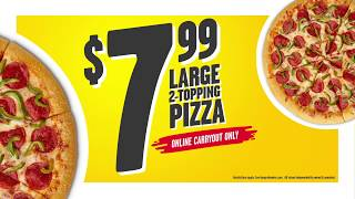 Hungry Howie's Pizza| Stomach Trouble| 15| 799 Deal
