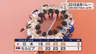 『世界バレーハイライト』中田JAPAN大金星!!強敵・セルビアに勝利!!!TBS