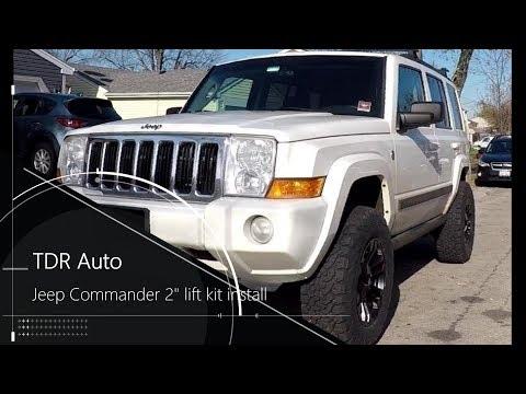 Jeep Commander Lift Kit Install