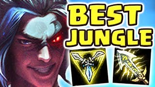 THE BEST JUNGLER EVER CREATED   NEW KAYN JUNGLE SPOTLIGHT   YOU CAN LEAVE THE MAP!! - Nightblue3