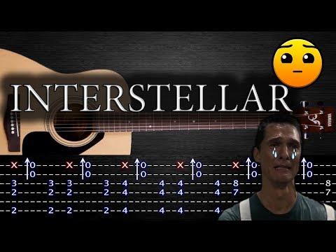 How to play 'Interstellar' Guitar Tutorial [TABS] Fingerstyle
