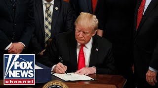Live: President Signs Hemp Farm Bill