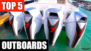 2020 Miami Boat Show Top 5 Outboard Boat Motors (Gas, Electric, Diesel)