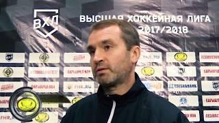 Дмитрий Максимов(«Темиртау») после матча Темиртау - Алматы