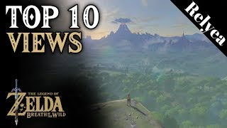Top 10 Best Views in Legend of Zelda Breath of the Wild
