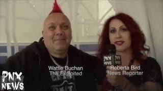 """PNX NEWS (Punks News) """"Wattie Buchan"""" The Exploited"""