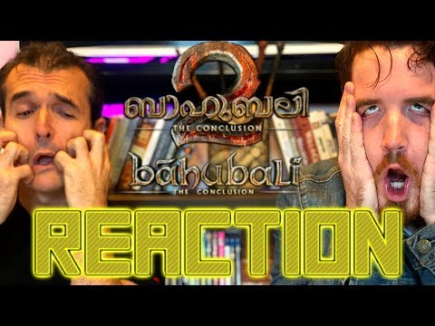 BAAHUBALI 2 - THE CONCLUSION | Trailer REACTION!!!!