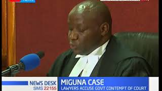 High Court Judge orders Immigration boss, DPP to appear in court over Miguna's deportation