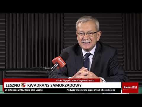 Wideo1: Leszno Kwadrans Samorządowy - Adam Mytych, wiceprezydent Leszna