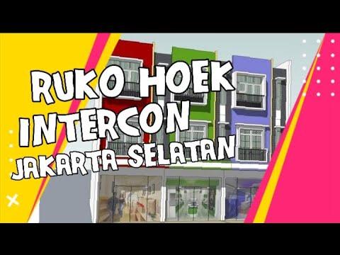 Ruko Disewakan Komplek Intercon, Jakarta Barat 11460 KXH801X1 www.ipagen.com