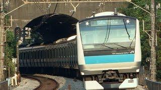 HD京浜東北線・根岸線の通勤電車E233系1000番台Bluelinecommutertrain
