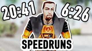 Half-Life 20:41 VS. New World Record (6:26) - Speedrun Comparison
