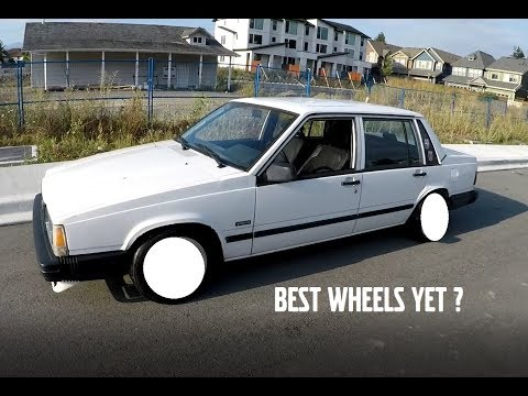 WHAT IS THE BEST WHEEL SIZE FOR A VOLVO 740 ?
