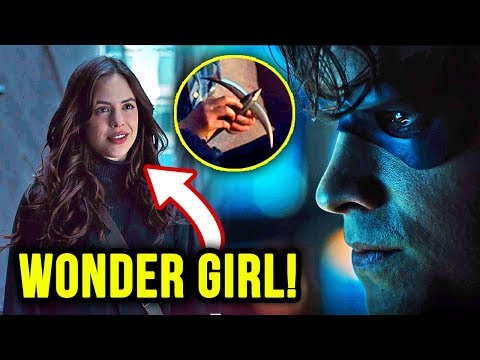Meet WONDER GIRL! JUSTICE LEAGUE Teased! - Titans Episode 8 Review 'Donna Troy'