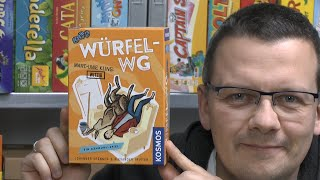 Würfel-WG (Kosmos) - ab 10 Jahre - Marc-Uwe Kling - Känguru Spiel