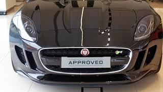 2016 Jaguar F-TYPE X152 MY17 R Quickshift RWD Ultimate Black 8 Speed Sports Automatic Convertible