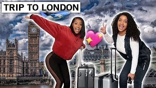 KENNEDY AND CORIE TAKE A TRIP TO LONDON!! (TRAVEL WITH US!!)
