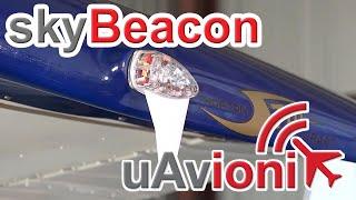 RV Aircraft Video - uAvionix skyBeacon ADS-B Install on a Cessna 172