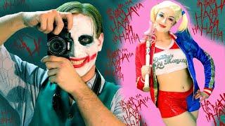 Joker & Harley Quinn PHOTO SHOOT | In Real Life!