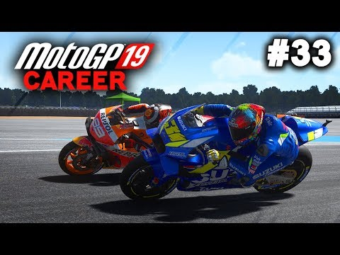 MotoGP 19 Career Mode Gameplay Part 33 - UNRIDEABLE SUZUKI! (MotoGP 2019 Game Career Mode PS4 / PC)