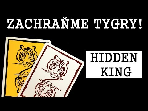 HIDDEN KING - Zachraňme tygry!