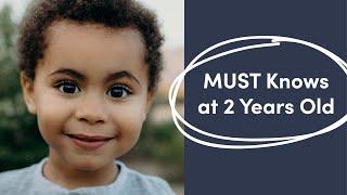 2 Year Old Typical Development | Developmental Milestones