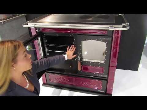 Rizzoli L90 Wood Cookstove (Progetto Fuoco Verona 2018)
