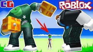 Я МАЛЕНЬКИЙ обижаю БОЛЬШИХ! БОКС СИМУЛЯТОР в Roblox Битва мульт героев Роблокс Boxing Simulator
