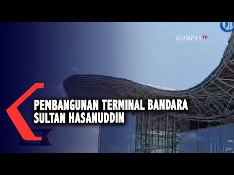 pembangunan terminal bandara sultan hasanuddin