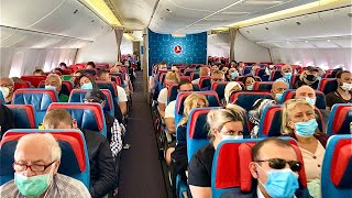 Turkish Airlines B777-300ER | Amsterdam to Istanbul - Economy Class