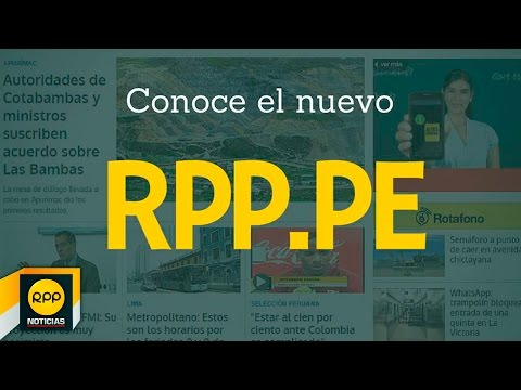 Video of RPP Noticias