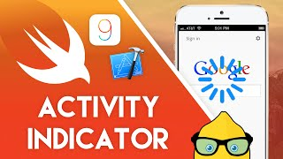 Xcode 7 Swift 2 Tutorial - Activity Indicator - iOS 9 Geeky Lemon Development
