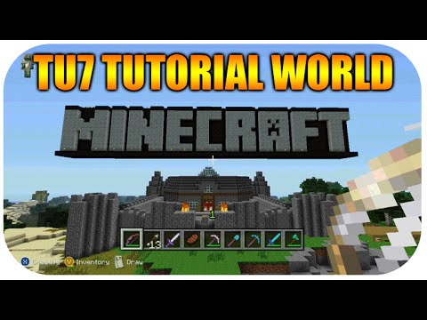 Minecraft Xbox 360 / PS3 - Old Tutorial Worlds - ibxtoycat - Video