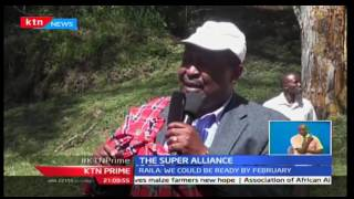 KTN Prime: CORD Leader Raila Odinga and ANC Leader Musalia Mudavadi admit on forming super alliance