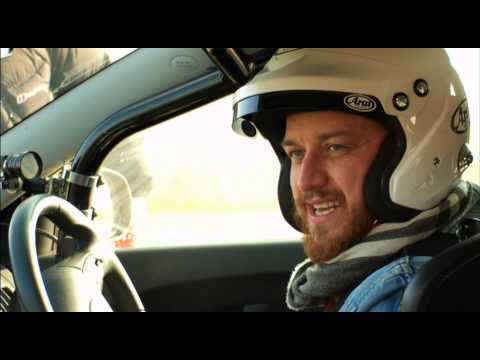 James McAvoy | Behind the Scenes | Top Gear | Series 19 | BBC