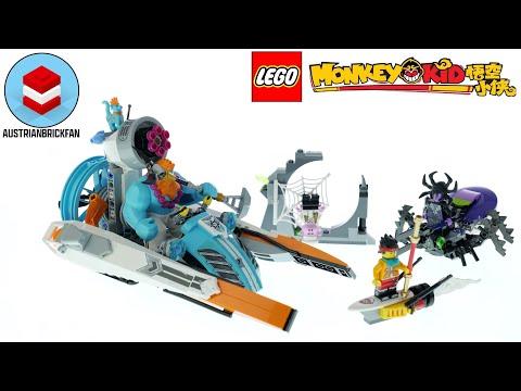 Vidéo LEGO Monkie Kid 80014 : Le hors-bord de Sandy