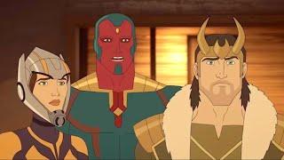 Марвел | Мстители: Секретные войны | Серия 23 Сезон 4 - Дикий Запад
